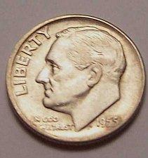Buy 1955-P  ROOSEVELT  DIME  >> XF/AU <<