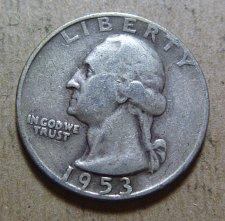 Buy 1953-D Washington Quarters (2 Coins)