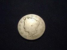 "Buy 1891 LIBERTY HEAD ""V"" NICKEL (A116)"