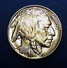 Buy 1936-P Buffalo Nickel - High Grade Coin For High Grade Set