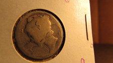 Buy Lot of 3 Mercury Dimes & one Roosevelt Dime: 1919, 1943, 1944, & 2007-D