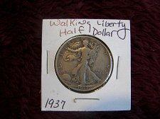 Buy 1937 Walking Liberty Half Dollar