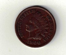 Buy NICE CIRCULATED 1900-P INDIAN HEAD CENT