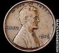 "Buy WHEAT PENNY VF-20 1909 ""VDB"""