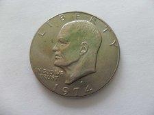 Buy 1974-D  Eisenhower United States Dollar