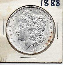 Buy 1888 MORGAN SILVER DOLLAR, UNCIRCULATED