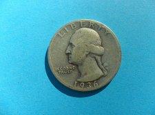 Buy 1936-S  Washington Quarter