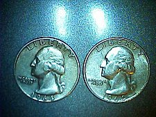 Buy Lot of 2- 1964 p-Washington Quarters