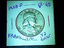 Buy Franklin 1958-D 1/2 dollar
