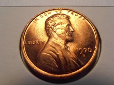 Buy 1970 S LINCOLN CENT BU RED