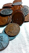 Buy 6-1943 S,D and P Steel Cents. 25- 1929-1955 all S Wheat Cents Small Cents