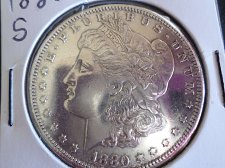Buy 1880 S Morgan Dollars: B