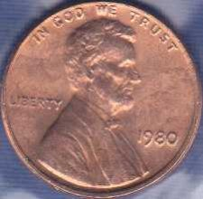 1980 Lincoln Memorial Penny Coin Value Prices, Photos & Info
