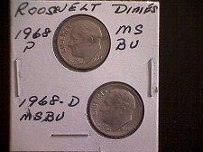 Buy 1968-P &1968-D ROOSEVELT DIMES