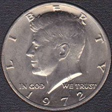 1972 Kennedy Half Dollar Coin Value Prices, Photos & Info