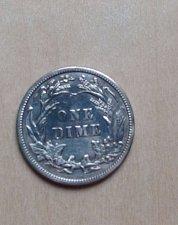 Buy Nice AU Barber Dime 1914
