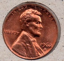 1973-D LINCOLN MEMORIAL CENT PENNY 50 COIN ROLL CIRCULATED COPPER