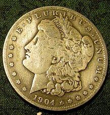 Buy 1904S Morgan Silver Dollar m  clean sharp    FINAL LISTING////