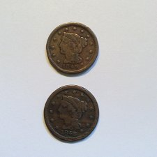 Buy 1846 and 1849 large cents check below for details