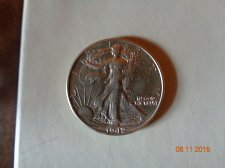 Buy 1942 WALKING LIBERTY HALF DOLLAR