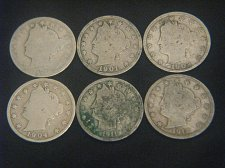Buy 1892-1912 Liberty Nickels