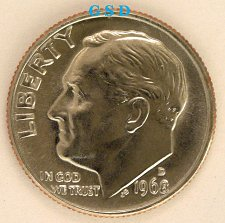 1968 D Roosevelt Dimes Value And Prices