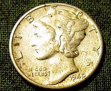 Buy 1940 P  Mercury Dime  FULL BANDS!!+1 FREE MERC! & FREE S/H //// A-36
