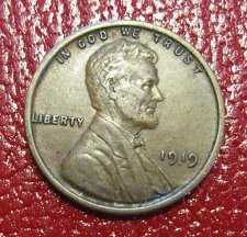 Buy 1919 P Lincoln Wheat Cent
