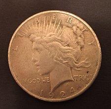 Buy 1924 Peace Dollar - inherited from my stepdad