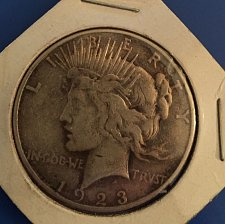 Buy 1923 Peace Dollar - from an inheritence