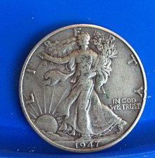 Buy 1947 Walking Liberty Half Dollar