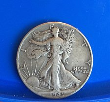 Buy 1941 Walking Liberty Half Dollar
