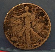 Buy 1945 Walking Liberty Half Dollar