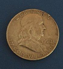 Buy 1958 Franklin Half Dollar