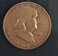 Buy 1951 Franklin Half Dollar