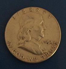 Buy 1954 Franklin Half Dollar