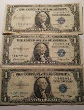 Buy 1935 E $1 Silver Certificate Lot of 3