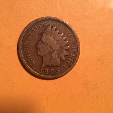 Buy 1905 indian head cent  circulated