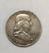 Buy 1957 Franklin Half Dollar