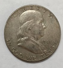 Buy 1961 Franklin Half Dollar