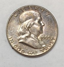 Buy 1959 Franklin Half Dollar