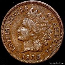 Buy 1908-P Nice Grade Indian Head Cent!!