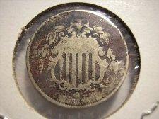 Buy 1867 Shield Nickel - no rays