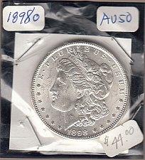 Buy Morgan 1898o Dollar: AU50   / MC27