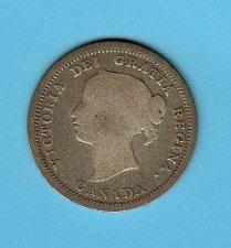 Buy Canadian- 1858    5 cent Piece ( nickel ) : G4    /  MC-44