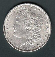 Buy Morgan 1890 Dollar: XF40/45   / MC60