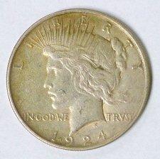 Buy 1924 Peace Silver Dollar Philadelphia Mint