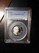 Buy 2014-s    Jefferson Nickel    PCGS  PR69 DCAM