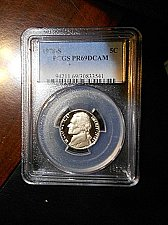 Buy 1978-s Jefferson Nickel      PCGS  PR69  DCAM