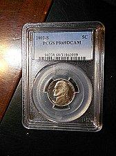 Buy 2002-s  Jefferson Nickel     PCGS   PR69 DCAM